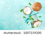 healthy food concept.  fresh... | Shutterstock . vector #1007219200