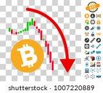 bitcoin epic fail trend icon...