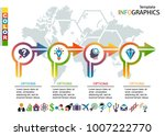 infographic template. set... | Shutterstock .eps vector #1007222770