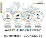 infographic template. set... | Shutterstock .eps vector #1007222788