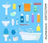 hygiene personal care vector... | Shutterstock .eps vector #1007227099