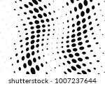 abstract halftone wave dotted... | Shutterstock .eps vector #1007237644