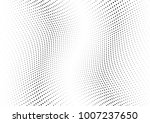 abstract halftone wave dotted... | Shutterstock .eps vector #1007237650