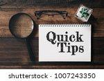 magnifying glass  glasses ... | Shutterstock . vector #1007243350