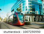 view of a tram passing on... | Shutterstock . vector #1007250550