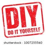 diy  do it yourself  rubber... | Shutterstock .eps vector #1007255560