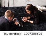 concept of modern internet... | Shutterstock . vector #1007255608