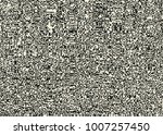 glitch abstract background.... | Shutterstock .eps vector #1007257450
