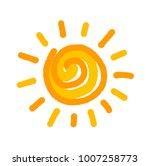 sun symbol illustration | Shutterstock .eps vector #1007258773