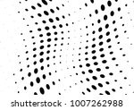 abstract halftone wave dotted... | Shutterstock .eps vector #1007262988