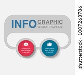 vector infographic template for ... | Shutterstock .eps vector #1007263786