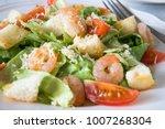 Caesar Salad With Shrimps ...