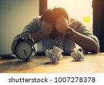 go bankrupt and unsuccess... | Shutterstock . vector #1007278378