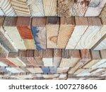 Wood  Box   Holder  Wood Scrap...