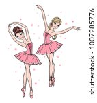 vector set of cute cartoon...   Shutterstock .eps vector #1007285776