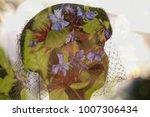 double exposure of a dolls head ...   Shutterstock . vector #1007306434