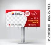 billboard banner  modern design ...   Shutterstock .eps vector #1007307556