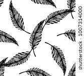 seamless pattern of hand drawn... | Shutterstock .eps vector #1007314000