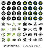 camera and photography icons | Shutterstock .eps vector #1007314414