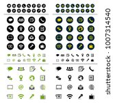 media and communication icons | Shutterstock .eps vector #1007314540