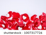 happy valentine's day concept ... | Shutterstock . vector #1007317726