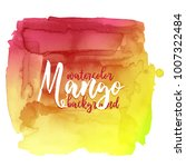 mango. colorful abstract...   Shutterstock .eps vector #1007322484