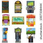 game machine vector arcade...   Shutterstock .eps vector #1007338444