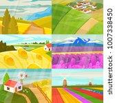 landscape vector landscaping... | Shutterstock .eps vector #1007338450