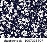 seamless floral pattern in... | Shutterstock .eps vector #1007338909