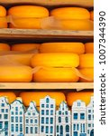 Dutch Cheese Ripening On Woode...