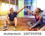 fitness  sport  exercising ... | Shutterstock . vector #1007355958