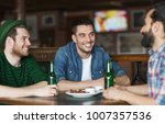 people  leisure  alcohol and st ... | Shutterstock . vector #1007357536