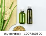 aloe vera plant  natural... | Shutterstock . vector #1007360500
