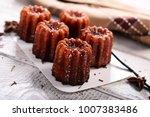 caneles de bordeaux  ... | Shutterstock . vector #1007383486