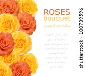 Roses Bouquet Background...