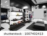 bright and fashionable interior ... | Shutterstock . vector #1007402413