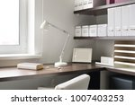 modern and brand new interior... | Shutterstock . vector #1007403253