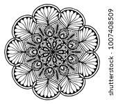 mandalas for coloring book....   Shutterstock .eps vector #1007408509