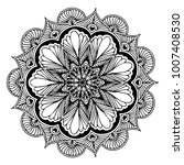 mandalas for coloring book.... | Shutterstock .eps vector #1007408530