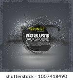 background for poster in grunge ... | Shutterstock .eps vector #1007418490
