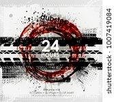 template grunge poster for... | Shutterstock .eps vector #1007419084