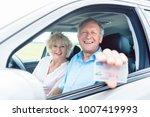 portrait of a happy senior man... | Shutterstock . vector #1007419993