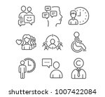 set of messages  working hours... | Shutterstock .eps vector #1007422084