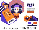 vector design elements for... | Shutterstock .eps vector #1007422780