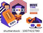 vector design elements for... | Shutterstock .eps vector #1007422780