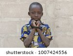 headshot of african black boy... | Shutterstock . vector #1007424556