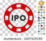 ipo token icon with bonus...