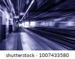 futuristic speed motion... | Shutterstock . vector #1007433580