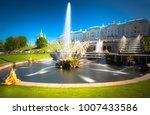 peterhof  russia   grand... | Shutterstock . vector #1007433586