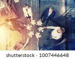 teamwork of partners. concept... | Shutterstock . vector #1007446648